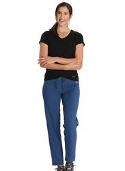 Jockey Ladies 24X7 Lounge Pants for Women, Double Extra Large, Vintage Denim Melange