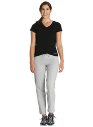 Jockey Ladies 24X7 Lounge Pants for Women, Extra Large, Light Grey Melange