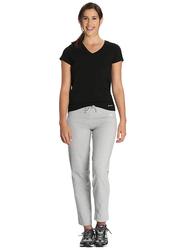 Jockey Ladies 24X7 Lounge Pants for Women, Double Extra Large, Light Grey Melange