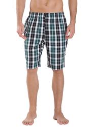 Jockey Men's Relax Bermuda Shorts Small, Green