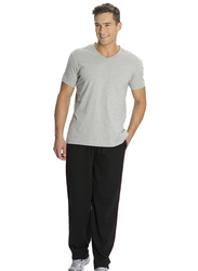 Jockey Men's 24X7 Jersey Pants Small, Black/US Red