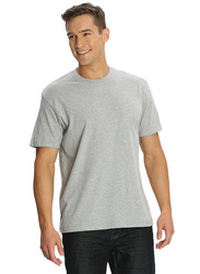 Jockey Men's 24X7 Sport Short Sleeve T-Shirt, 2714-0105, Double Extra Large, Grey Melange