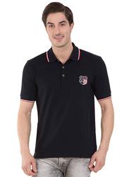 Jockey Men's USA Originals Polo T-Shirt, US85-0103, Small, Black