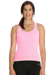 Jockey Ladies 24X7 Racer Back Tank Top for Women, Small, Blush Pink