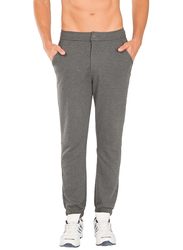 Jockey Sport Performance Slim Fit Track Pants for Men Medium, Charcoal Melange