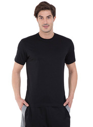 Jockey Men's 24X7 Sport Short Sleeve T-Shirt, 2714-0105, Double Extra Large, Black