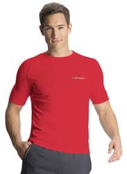 Jockey Sport Performance T-Shirt for Men, SP24-0105, Large, Us Red