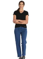 Jockey Ladies 24X7 Lounge Pants for Women, Small, Vintage Denim Melange