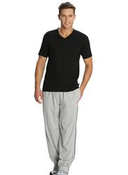 Jockey Men's 24X7 Jersey Pants Small, Grey Melange