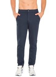 Jockey Sport Performance Slim Fit Track Pants for Men Medium, Navy Blue
