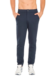 Jockey Sport Performance Slim Fit Track Pants for Men Medium, Navy Blue