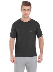 Jockey Sport Performance T-Shirt for Men, SP24-0105, Small, Graphite