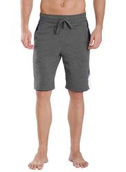 Jockey Men's Sports Active Shorts Medium, Charmel/Navy