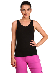 Jockey Ladies 24X7 Tank Top for Women, Large, Black
