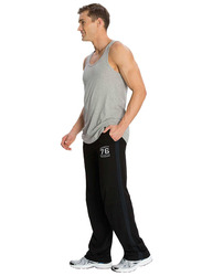 Jockey Men's Sports Star Track Pants Small, Black