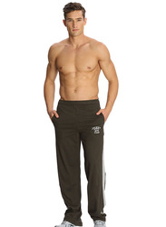 Jockey Men's Sports Star Track Pants Small, African Plane Brown