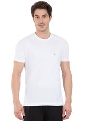 Jockey Sport Performance T-Shirt for Men, SP24-0105, Large, White