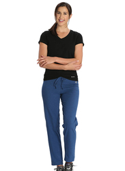 Jockey Ladies 24X7 Lounge Pants for Women, Large, Vintage Denim Melange