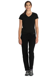 Jockey Ladies 24X7 Lounge Pants for Women, Double Extra Large, Black