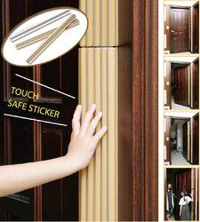 Robustline Self Adhesive Finger Door Guard, Brown