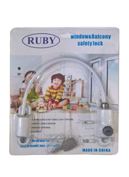 Ruby Window and Balcony Safety Lock, White