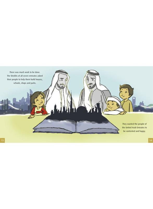 Two Great Leaders, Hardcover Book, By: Mohammed Bin Rashid Al Maktoum