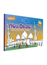 Abu Dhabi Colouring Book, Paperback Book, By: Explorer Publishing
