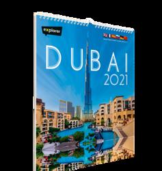 Explorer Dubai Multilanguage Calendar 2021