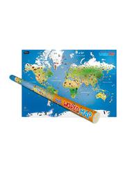 Children's Illustrated World Map, By: Explorer Publishing