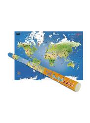 Children's Illustrated World Map (Arabic), By: Explorer Publishing