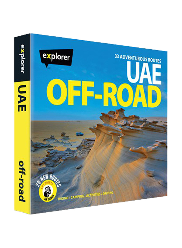 UAE Off-Road, Hardcover Book, By: Explorer Publishing
