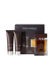 Dolce & Gabbana 3-Piece The One Gift Set 100ml EDT, Shower Gel 50ml, After shave 50ml for Men