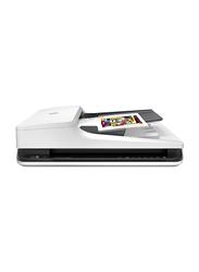 HP ScanJet Pro 2500 f1 Document Image Flatbed Color Scanner, 1200DPI, White