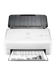 HP ScanJet Pro 3000 s3 Document Image Sheetfed Color Scanner, 600DPI, White