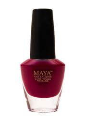 Maya Cosmetics Breathable Water Permeable Wudu Friendly Halal Nail Polish, Ruman