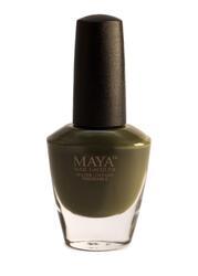 Maya Cosmetics Breathable Water Permeable Wudu Friendly Halal Nail Polish, Olive You
