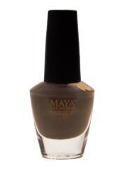 Maya Cosmetics Breathable Water Permeable Wudu Friendly Halal Nail Polish, Cocoa Bean
