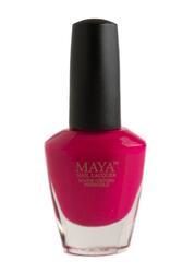Maya Cosmetics Breathable Water Permeable Wudu Friendly Halal Nail Polish, Fuchsia is Bright