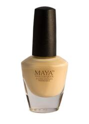 Maya Cosmetics Breathable Water Permeable Wudu Friendly Halal Nail Polish, Butternut