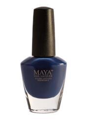 Maya Cosmetics Breathable Water Permeable Wudu Friendly Halal Nail Polish, Midnight Blues