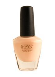 Maya Cosmetics Breathable Water Permeable Wudu Friendly Halal Nail Polish, Himalayan Salt