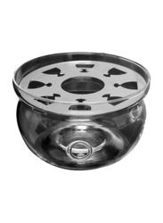 Tea Pot Warmer Base, 13.5 x 13.5 x 8cm, Clear