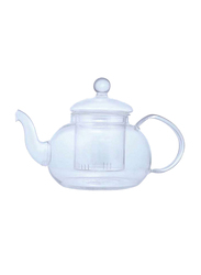 Liying 600ml 3-Piece Glass Coffee Pot Set, Clear