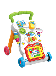 Cool Baby Musical Push Along Baby Activity Walker, Multicolor