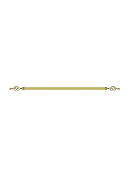 2-Meter Adjustable Curtain Rod Pipe, 51.2 x 8.7 x 11inch, 200G, Gold