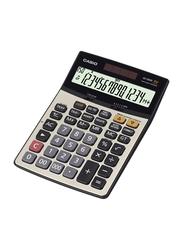 Casio 14-Digit Office Calculator, DJ240D, Silver/Black