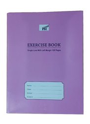 PSI Single Line Exercise Notebook, 120 Pages, Purple