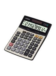 Casio 12-Digit Office Calculator, DJ220D, Silver/Black