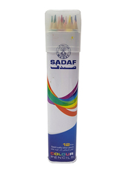 Sadaf 12-Piece Color Pencil, Multicolor