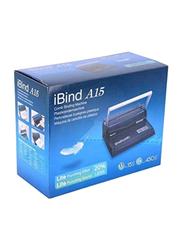 iBind 15 Sheets Comb Binding Machine, Black
